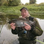 The Dairy House Fishery- Four pound two ounce Grayling